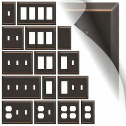 Bronze Switch Plate Cover Century Oil Rubbed Wallplate Toggl
