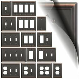 Bronze Switch Plate Cover Chelsea Oil Rubbed Wallplate Toggl