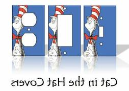 Cat in the Hat Light Switch Covers Dr. Seuss Home Decor Outl