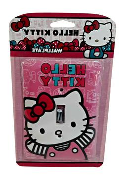 Hello Kitty Wallplate Light Switch Cover from AmerTac, Steel
