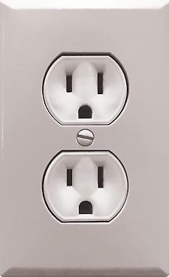fake outlet stickers prank wall sockets electrical