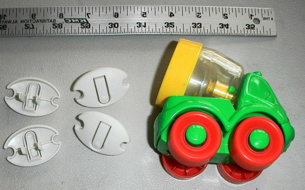 fisher price happy cement mixer rattle infant