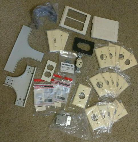 lot of and wiremold covers parts