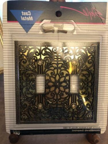 nos vtg style light switch cover wall