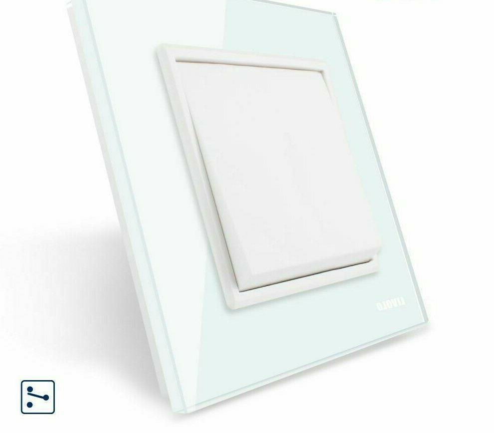 tempered glass panel wall socket touch switches