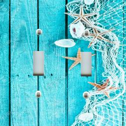 Light Switch Plate Outlet Covers BEACH DECOR ~ FISHING NET S