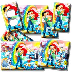 LITTLE MERMAID ARIEL PRINCE ERIC URSULA LIGHTSWITCH OUTLET W