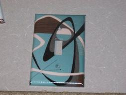 Mid Century Modern Images LIGHT SWITCH OR OUTLET COVERS HAND