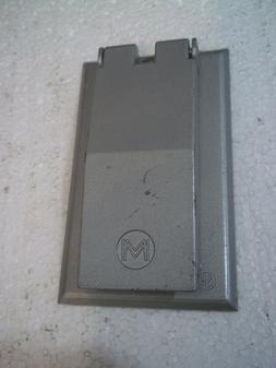 NEW NO PACKAGING MULBERRY METAL PRODUCTS WET LOCATIONS RECEP