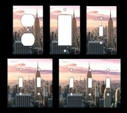 NEW YORK NYC SKYLINE Light Switch Covers Home Decor Outlet M