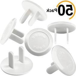Outlet Covers Babyproofing 50-Pack by Wappa Baby   Safe  Sec