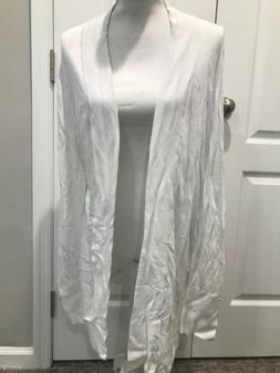 White House Black Market OUTLET WHBM DRAPED COVER-UP Size L