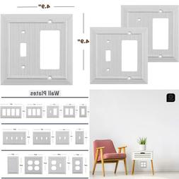 Pack Of 2 Wall Plate Outlet Switch Covers By Sleeklighting  