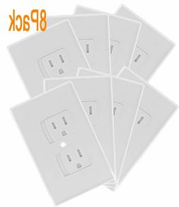 Self Closing Electrical Outlet Covers, Child Proof Safety Un