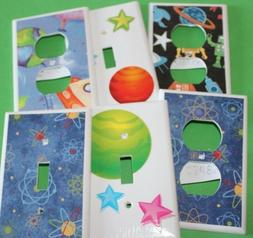 SPACE THEME - Switchplate Covers - Light Switch Electrical O