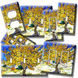 VINCENT VAN GOGH MULBERRY TREE PAINTING LIGHT SWITCH OUTLET