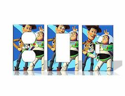 Woody & Buzz Toy Story Disney Light Switch Covers Home Decor